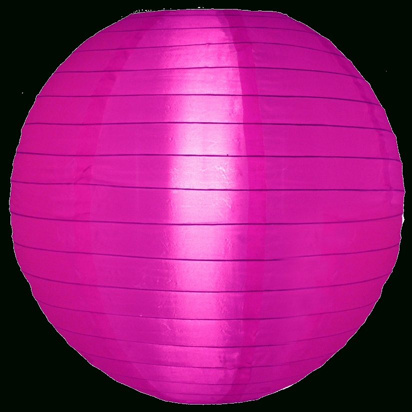 Inspiration about 12 Inch Violet Nylon Round Lanterns With Outdoor Round Lanterns (#14 of 15)