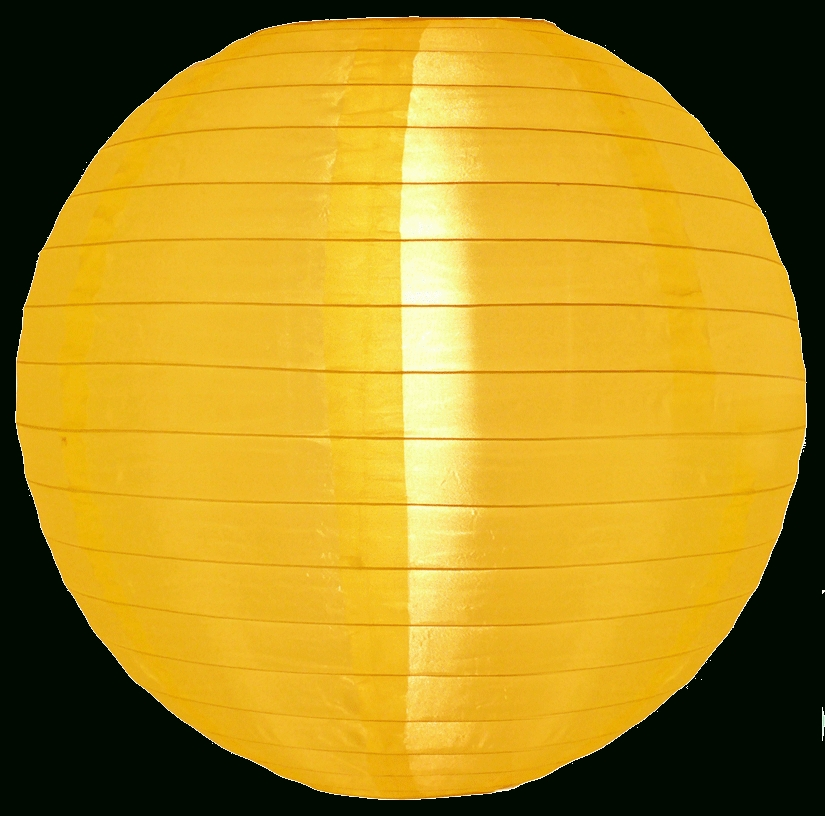 Inspiration about 12 Inch Yellow Nylon Lanterns In Yellow Outdoor Lanterns (#12 of 15)