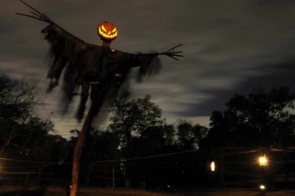 Inspiration about 12 Outstanding Halloween Outdoor Decorations For 2017: 5.pumpkin Regarding Outdoor Halloween Lanterns (#4 of 15)
