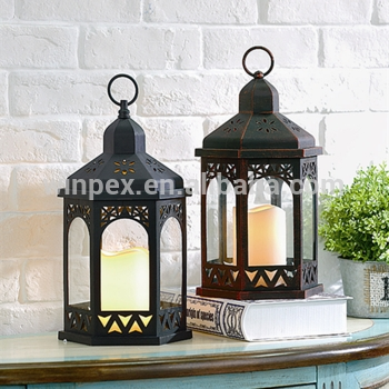 "13"" Moroccan Style Plastic Candle Lanterns – Buy Candle Lanterns In Outdoor Plastic Lanterns (View 3 of 15)"