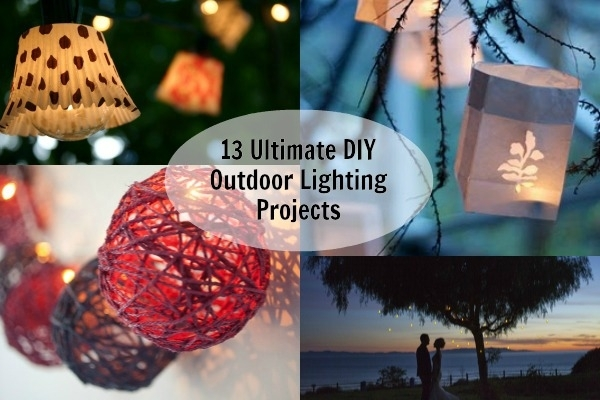 Inspiration about 13 Ultimate Diy Outdoor Lighting Inspirations | Blissfully Domestic Within Diy Outdoor Lanterns (#11 of 15)
