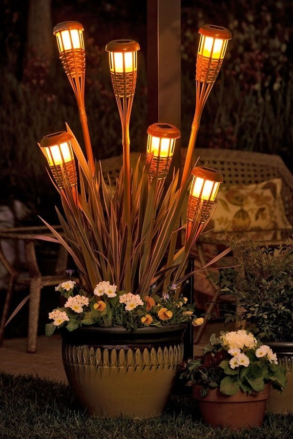 Inspiration about 15 Easy Diy Outdoor Projects To Make Your Backyard Awesome Inside Outdoor Tiki Lanterns (#5 of 15)