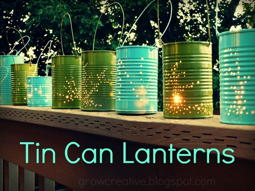 Inspiration about 17+ Outdoor Lighting Ideas For The Garden – Scattered Thoughts Of A Within Diy Outdoor Lanterns (#7 of 15)