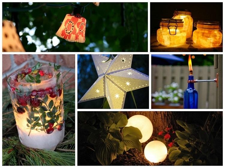 18 Stunning Diy Outdoor Lighting Ideas Inside Diy Outdoor Lanterns (#4 of 15)