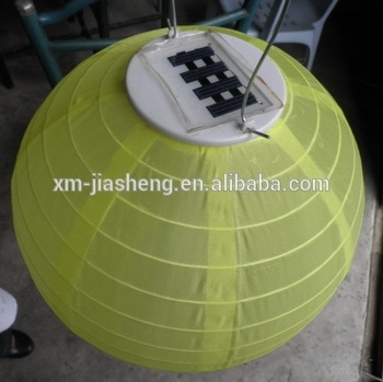 2015 Festival Lanterns Solar Outdoor Powered Chinese Nylon Fabric Pertaining To Outdoor Round Lanterns (View 12 of 15)