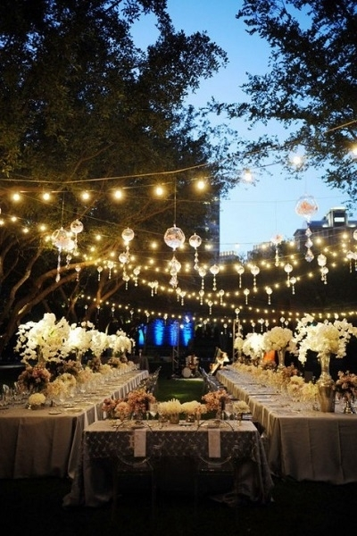 Inspiration about 23 Ways To Transform Your Wedding From Bland To Mind Blowing With Regard To Outdoor Globe Lanterns (#10 of 15)