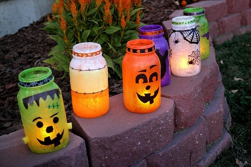 Inspiration about 25 Cool Diy Halloween Lanterns And Luminaries – Shelterness Within Outdoor Halloween Lanterns (#11 of 15)