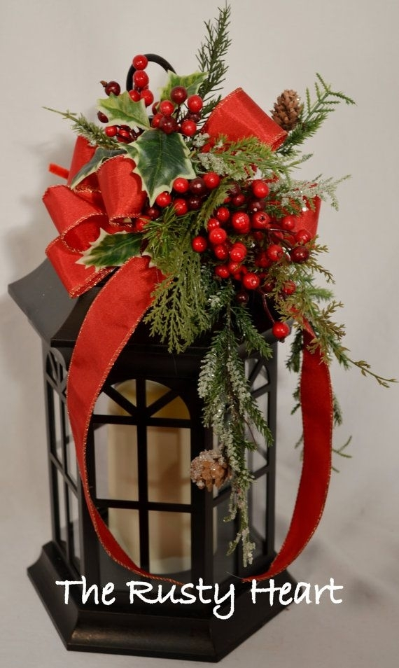 Inspiration about 25 Top Outdoor Christmas Decorations On Pinterest | Lanterns With Outdoor Lanterns For Christmas (#6 of 15)