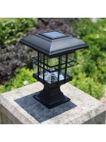 Inspiration about 2Pcs Solar Courtyard Lamp Led Solar Street Lamp Wall Headlamp Intended For Outdoor Lawn Lanterns (#8 of 15)