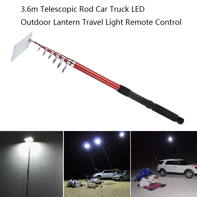 Inspiration about 3.6M Telescopic Led Outdoor Lantern Travel Light Can Use Remote Pertaining To Outdoor Lanterns With Remote Control (#9 of 15)