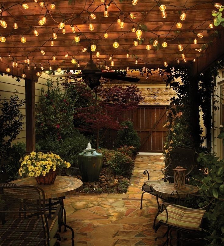 Inspiration about 38 Innovative Outdoor Lighting Ideas For Your Garden Pertaining To Outdoor Battery Lanterns For Patio (#14 of 15)