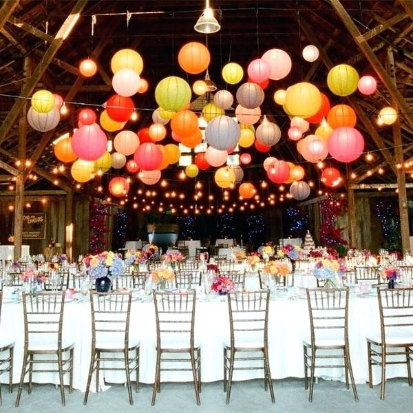 Inspiration about 4 6 8 Inch Paper Lanterns Hanging Outdoor – Ballnet.co Inside Outdoor Lanterns For Parties (#15 of 15)