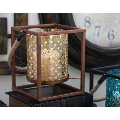 Inspiration about 4.75 – Outdoor Lanterns – Outdoor Torches – The Home Depot Throughout Outdoor Mosaic Lanterns (#15 of 15)