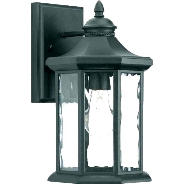 4 Light Outdoor Pendant Black Lantern Lights Porch – Bobbowers (#1 of 15)