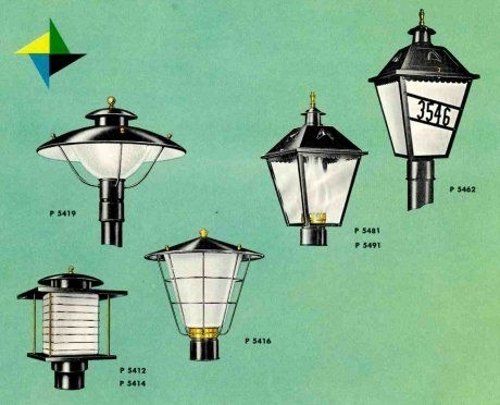 Inspiration about 41 Midcentury Lighting Ideas – Post Lanterns, Lamp Posts, Wall Pertaining To Outdoor Lanterns For Posts (#2 of 15)