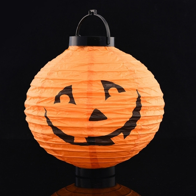Inspiration about 5 Pieces Halloween Eve Pumpkin Lanterns, Halloween Decoration For Inside Outdoor Pumpkin Lanterns (#2 of 15)