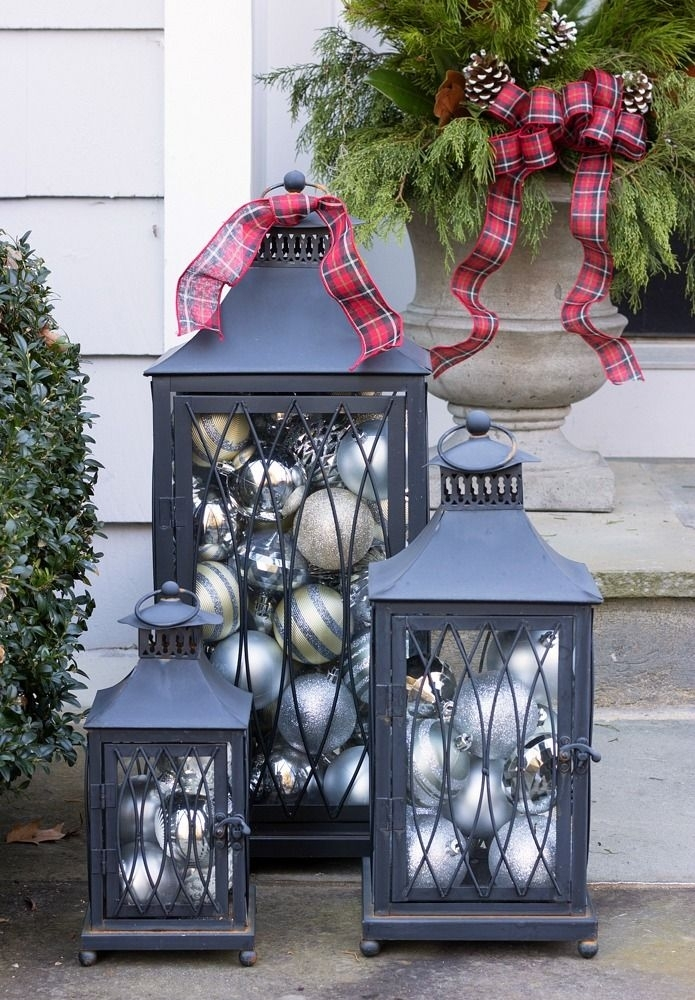 Inspiration about 5 Time Saving Solutions For Outdoor Holiday Decor | Pinterest Within Outdoor Holiday Lanterns (#1 of 15)