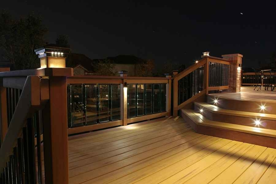 Inspiration about 50 Unique Stock Of Outdoor Deck Lighting Ideas | Gazebo And Grill With Outdoor Deck Lanterns (#8 of 15)