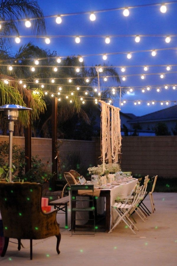 52 Spectacular Outdoor String Lights To Illuminate Your Patio | Home In Outdoor String Lanterns (#2 of 15)
