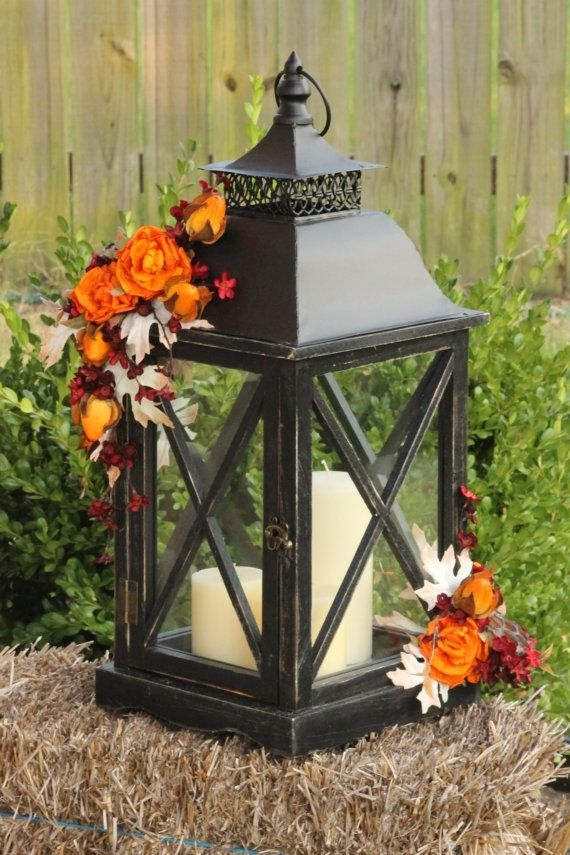 Inspiration about 59 Fall Lanterns For Outdoor And Indoor Décor – Digsdigs For Outdoor Rustic Lanterns (#10 of 15)