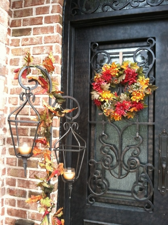 Inspiration about 59 Fall Lanterns For Outdoor And Indoor Décor – Digsdigs Regarding Outdoor Lanterns On Stands (#5 of 15)