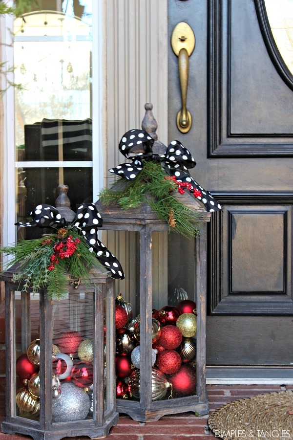 Inspiration about 6 Outdoor Holiday Decoration Ideas | The Houston Design Center In Outdoor Holiday Lanterns (#8 of 15)
