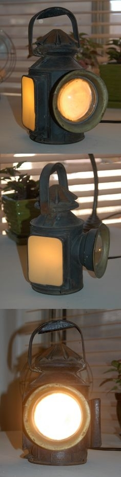 76 Best Railroad Lanterns Images On Pinterest | Lanterns, Lights And Inside Outdoor Railroad Lanterns (View 5 of 15)
