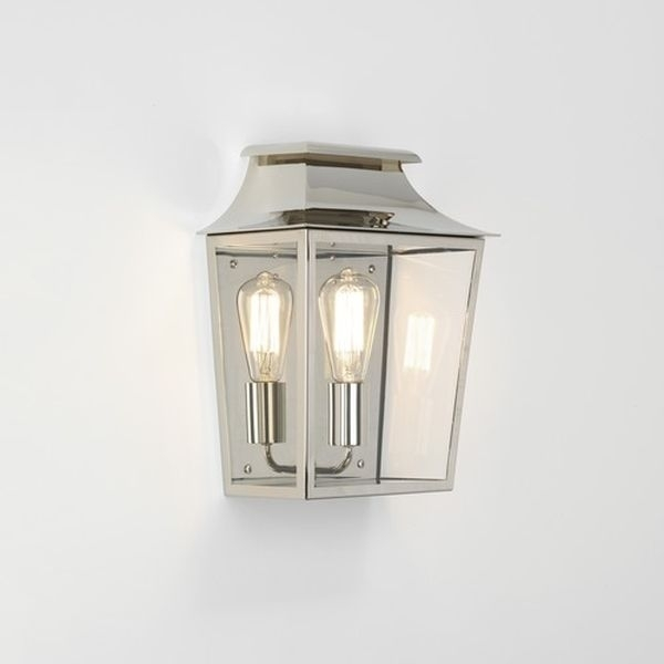 7948 Astro Richmond 285 Pn| Polished Nickel Outdoor Lighting Regarding Nickel Outdoor Lanterns (View 13 of 15)
