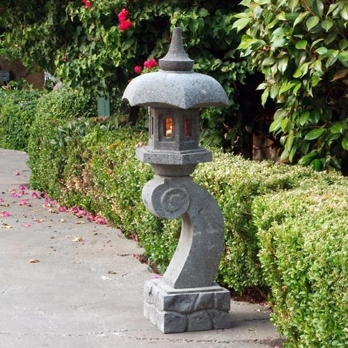 814 Best Outdoor Landscaping Images On Pinterest | Japanese Gardens Pertaining To Outdoor Japanese Lanterns (View 12 of 15)