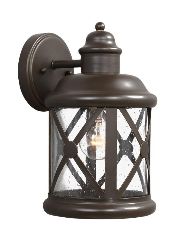8621401 71,medium One Light Outdoor Wall Lantern,antique Bronze Intended For Rust Proof Outdoor Lanterns (View 12 of 15)