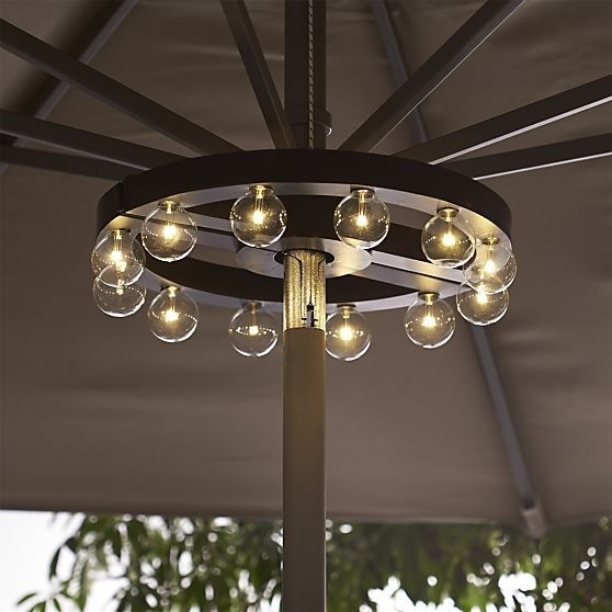 9 Best Patio Umbrella Lights Images On Pinterest | Patio Umbrella Intended For Outdoor Battery Lanterns For Patio (View 3 of 15)