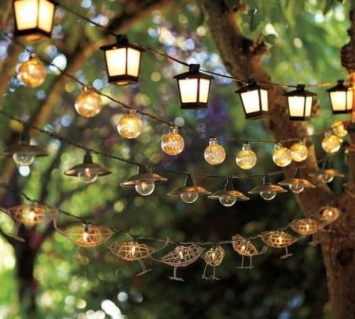 9 Enchanting Outdoor Lighting Ideas For Your Home | Patios, 21st And With Outdoor Lanterns On String (View 3 of 15)