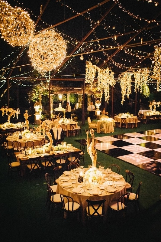 Inspiration about 9 Wedding Lighting Trends | It Girl Weddings Regarding Outdoor Lanterns For Wedding (#14 of 15)