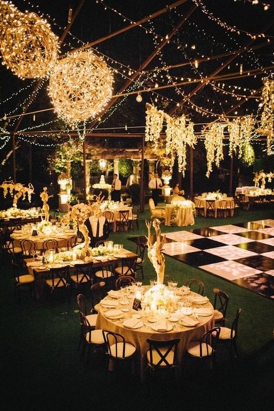 Inspiration about 9 Wedding Lighting Trends | It Girl Weddings Regarding Outdoor Lanterns For Wedding (#14 of 15)