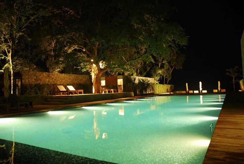 Absolutely Outdoor Pool Lantern 30 Beautiful Swimming Lighting Idea Throughout Outdoor Pool Lanterns (View 4 of 15)