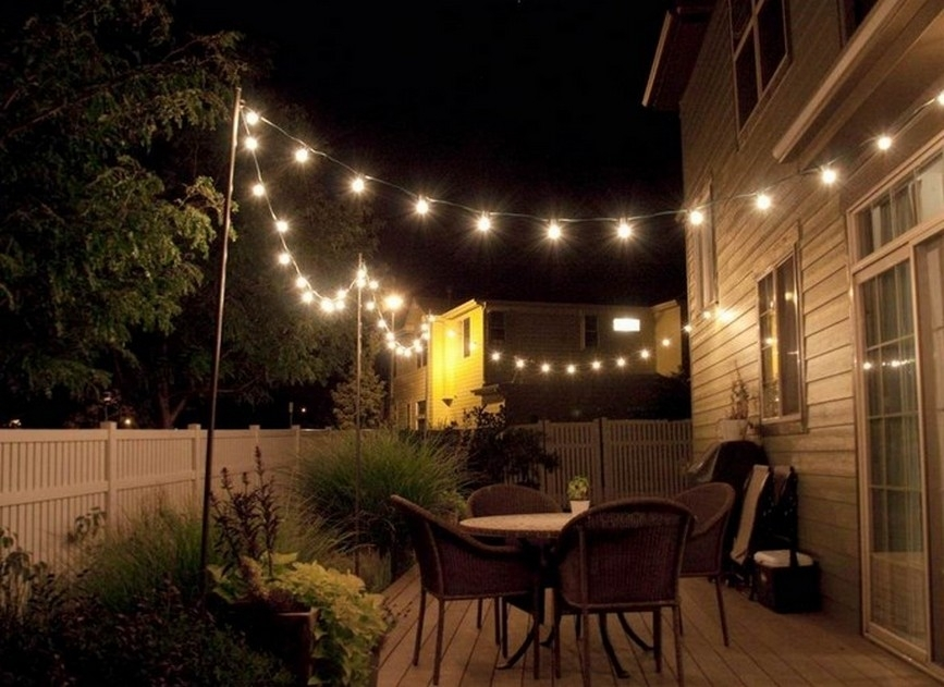 Amazing Of Patio String Lights Ideas Backyard String Lights Ideas For Outdoor String Lanterns (View 10 of 15)