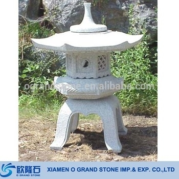 Antique Granite Chinese Stone Outdoor Japanese Lanterns – Buy Throughout Outdoor Japanese Lanterns (View 2 of 15)