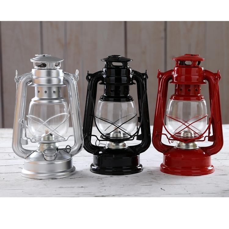 Antique Lantern Portable Hurricane Lantern Kerosene Lamp Wrought Pertaining To Outdoor Vintage Lanterns (View 13 of 15)