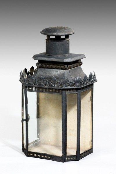 Antique Outdoor Lanterns – The Uk's Premier Antiques Portal – Online Throughout Antique Outdoor Lanterns (#5 of 15)