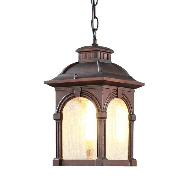 Antique Outdoor Water Proofed Pendant Lighting 9552 : Free Ship With Regard To Antique Outdoor Lanterns (View 15 of 15)