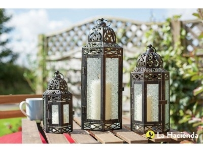 Argos Product Support For Set Of 3 Lanterns (304/0658) For Outdoor Lanterns At Argos (View 3 of 15)