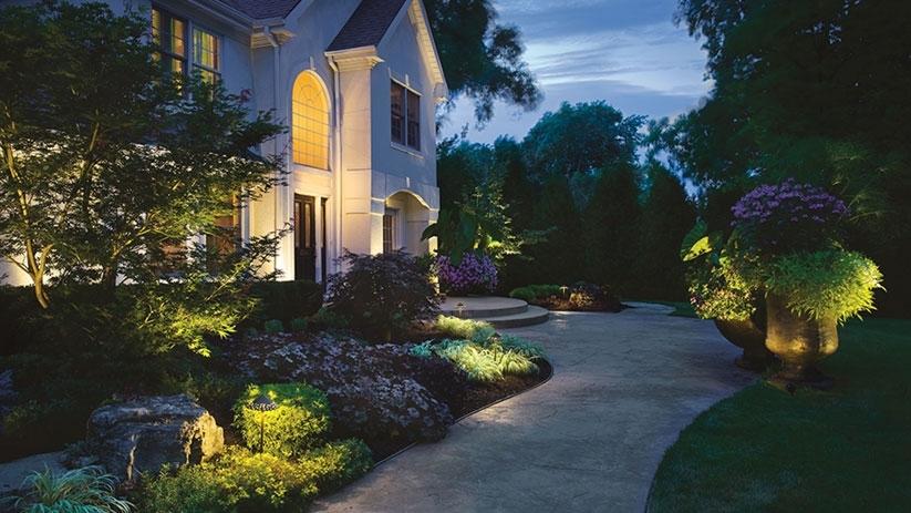 Astonishing Kichler Outdoor Lighting Kichler Outdoor Landscape Within Kichler Outdoor Lanterns (View 11 of 15)
