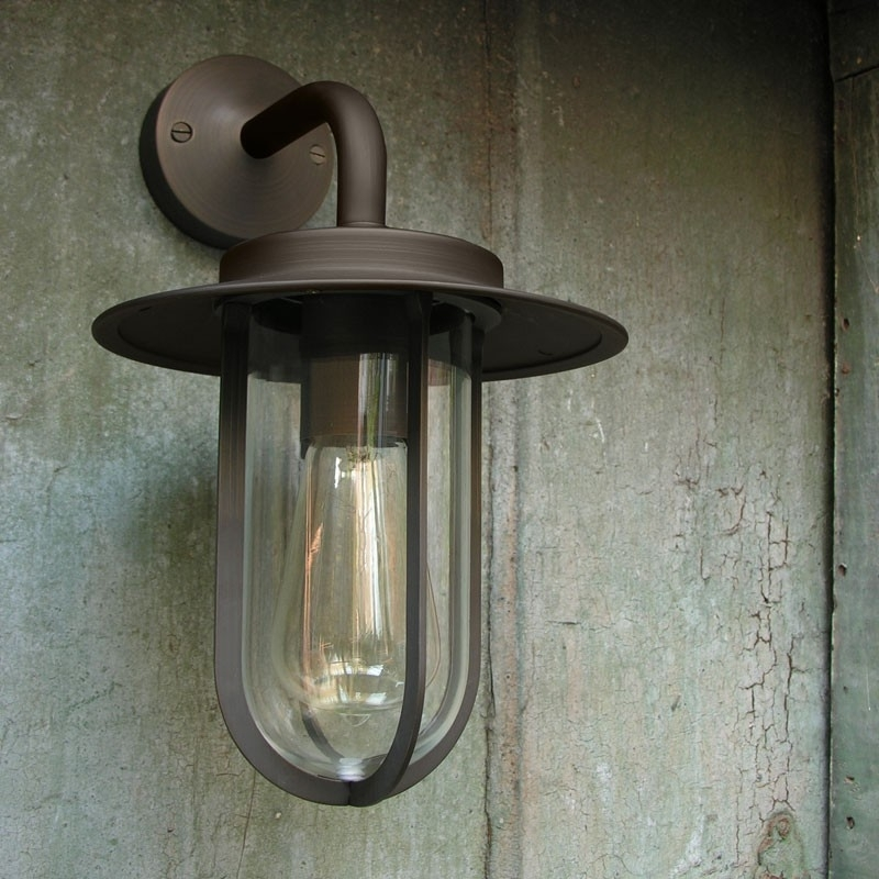 Astro Montparnasse Outdoor Wall Light – Bronze – Lyco Intended For Outdoor Wall Lanterns (View 10 of 15)