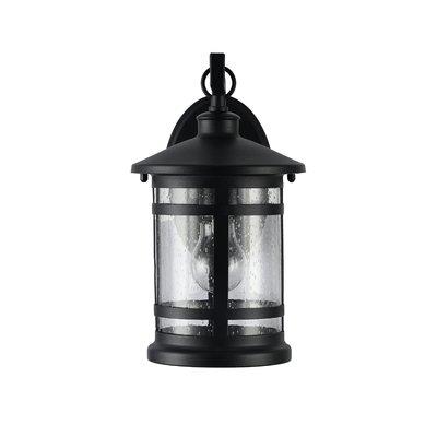August Grove Sanders 1 Light Metal Outdoor Wall Lantern | Wayfair Throughout Joanns Outdoor Lanterns (View 6 of 15)