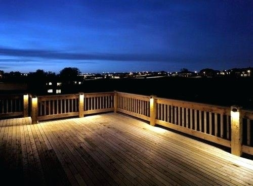 Awesome Outdoor Deck Lighting Ideas On Simple Collection With Within Outdoor Deck Lanterns (#5 of 15)