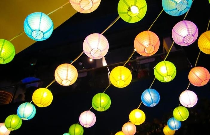 Backyard Lighting For A Party Lights Ideas Outdoor Back Yard Pertaining To Outdoor Lanterns For Parties (#5 of 15)