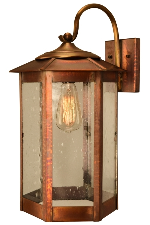 Popular Photo of Copper Outdoor Lanterns