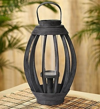 Bamboo Lantern (outdoor Or Indoor)   For The Garden   Pinterest For Outdoor Bamboo Lanterns (View 6 of 15)