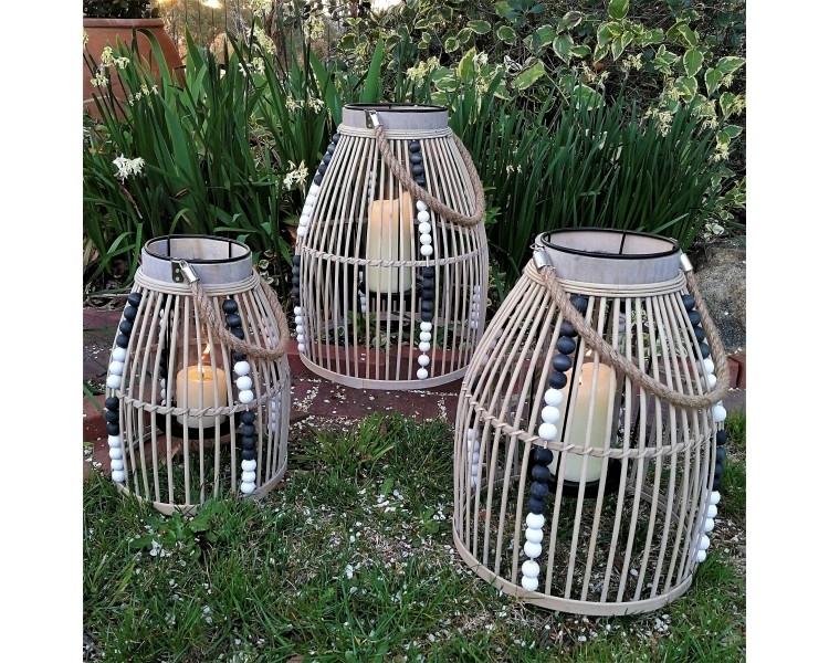 Bamboo Lanterns, Outdoor Lanterns, Garden Lanterns, Luxury Decor, Inside Outdoor Bamboo Lanterns (View 10 of 15)