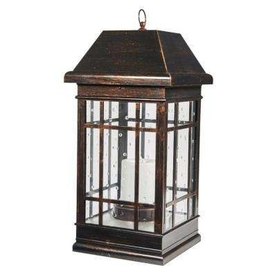 Battery – Outdoor Lanterns – Outdoor Specialty Lighting – Outdoor In Home Depot Outdoor Lanterns (View 10 of 15)